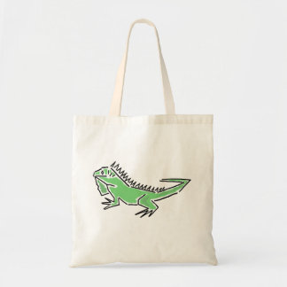 CM la bolsa de asas enrrollada de la iguana