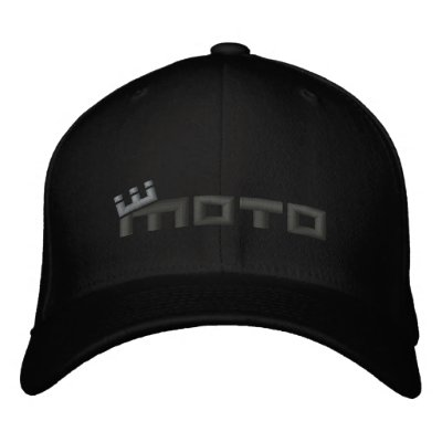 CM Moto (charcoal/gry) Embroidered Hats
