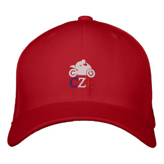 CM Moto CZE (Czech Republic) Embroidered Baseball Caps