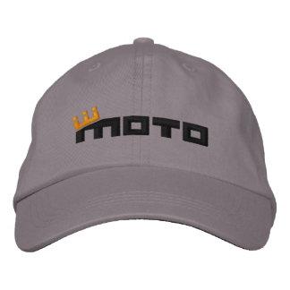 CM Moto Text (black) Embroidered Baseball Hat