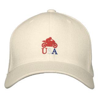 CM Moto USA Embroidered Baseball Hat