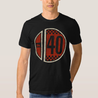 CM Racing Retro #40 (vintage) T-Shirt
