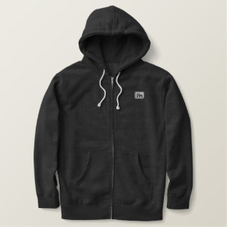 CM Rep (silver Cthru) Embroidered Hoodie