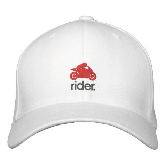 Cm Rider Hat (gry/red) Baseball Cap
