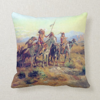 CM Russell The Scouts Fine Art Pillow