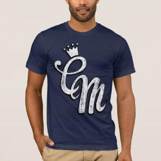 CM Script Initials (vintage) T-Shirt