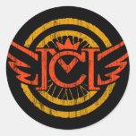 CM Vintage Wings Stickers