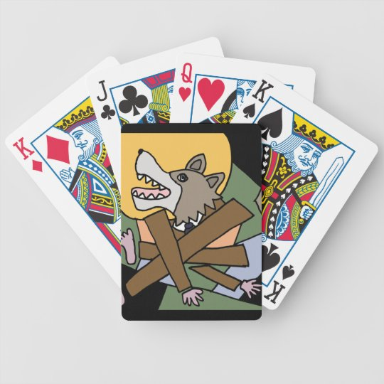 CM- Werewolf Transformation Playing Cards
