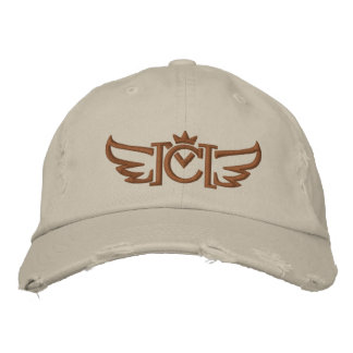 CM Winged (copper) Embroidered Baseball Hat