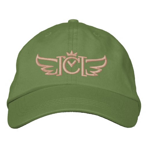 CM Winged Logo (coral) Embroidered Baseball Hat