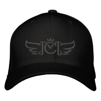 CM Wings (charcoal/silver) Embroidered Hat