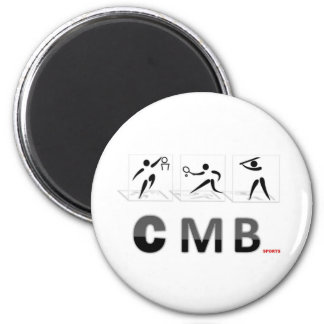 CMB SPORTS LOGO 2 INCH ROUND MAGNET