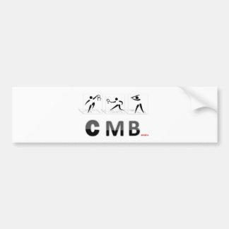 CMB SPORTS LOGO BUMPER STICKER