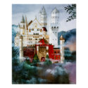 CMCarlson Castle in a Cloud Poster print