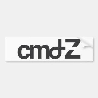 CMD  Z  logo Bumper Sticker