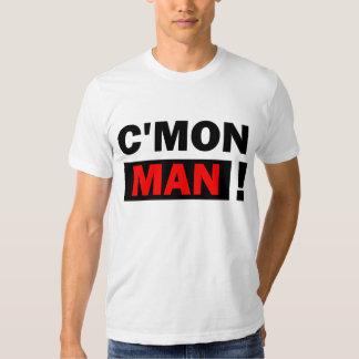C'Mon camiseta del hombre Poleras