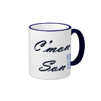 ¡C'mon hijo! Tazas De Café