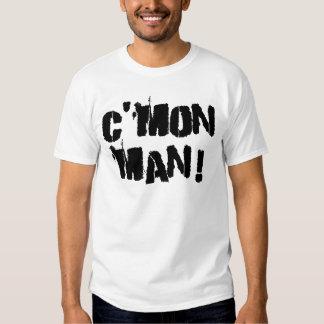 C'mon Man! Black Ink T Shirt