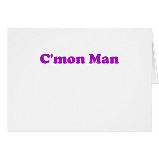 Cmon Man Cards
