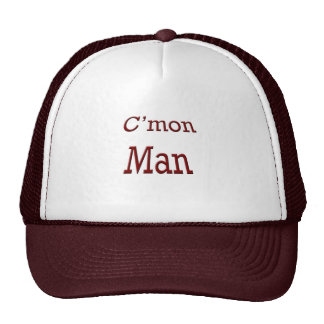 C'mon man mesh hats