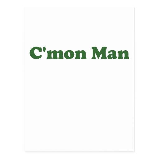 Cmon Man Postcards