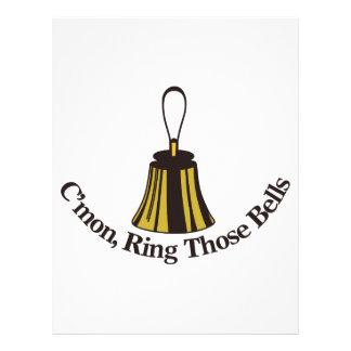 Cmon Ring Those Bells Letterhead