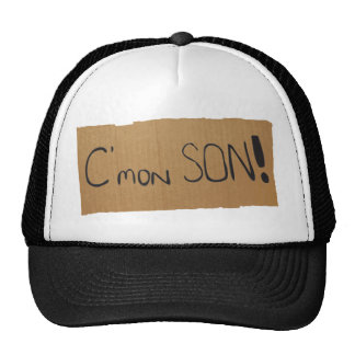 cmonson trucker hat