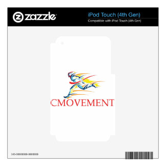 CMOVEMENT SKIN FOR iPod TOUCH 4G