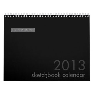 CMP 2013 Calendar A year from the sketchbook