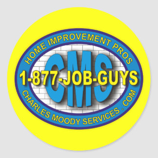 CMS Logo 2011 Round Stickers