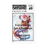 CMT Awareness Expressions Art Exhibition 2012 Postage Stamp