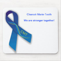CMT Awareness Ribbon Mouse Pad