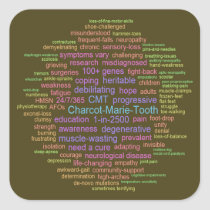 CMT Awareness Sticker (Word Cloud)