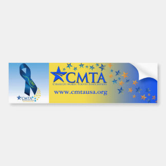 CMT Ribbon Bumper Sticker
