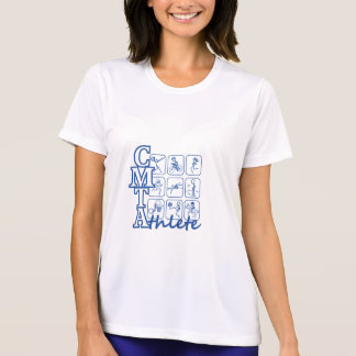CMTA Athlete Ladies Performance Micro-Fiber T-Shir T-shirts