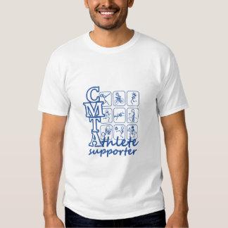 CMTA Athlete supporter Mens white t-shirt