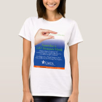 CMTA Awareness 2013 t-shirts