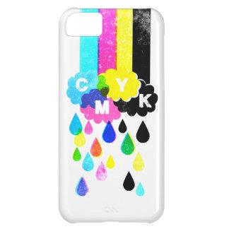 CMYK - Arco iris y gotas de agua