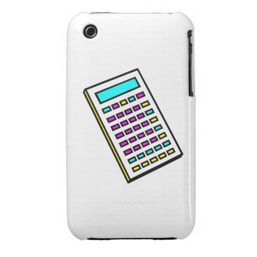 CMYK Calculator Retro Graphic iPhone 3 Case-Mate Case