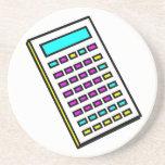 CMYK Calculator Retro Graphic Coasters