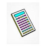 CMYK Calculator Retro Graphic Flyer