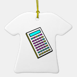 CMYK Calculator Retro Graphic Christmas Ornaments
