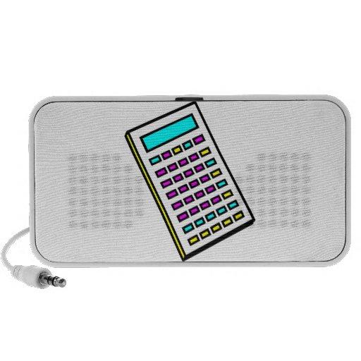 CMYK Calculator Retro Graphic Speaker