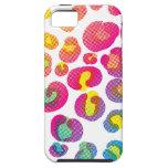 CMYK Cheetah iPhone 5 Cover