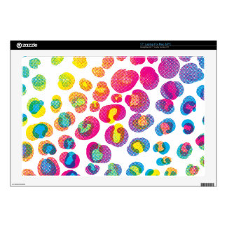 CMYK Cheetah Skin For Laptop