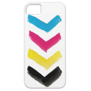 CMYK Chevron iPhone Case Case For iPhone 5/5S