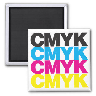 CMYK CMYK REFRIGERATOR MAGNETS