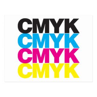 CMYK CMYK POSTCARD