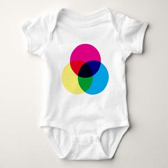 CMYK Color Model Baby Bodysuit