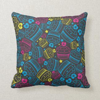 cmyk cupcakes pillows
